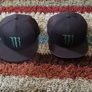 2LOT NEW ERA MONSTER SNAPBACK HATS